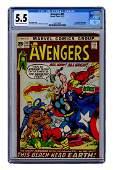 Avengers No. 93. Marvel Comics, 1971. CGC 5.5 graded