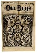 """1877 Chicago White Stockings """"Our Boys"""""""