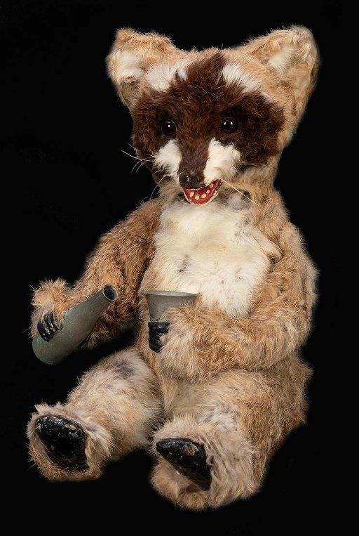 Drinking Raccoon Automaton