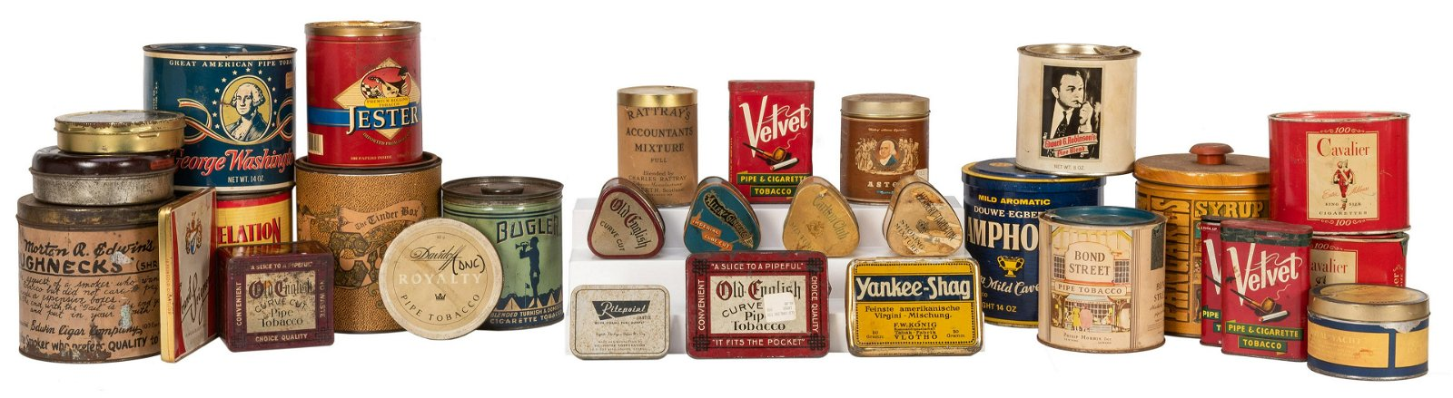 Lot of Tobacco and Other Advertising Tins.