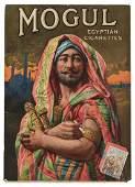 Mogul Egyptian Cigarettes Advertising Sign