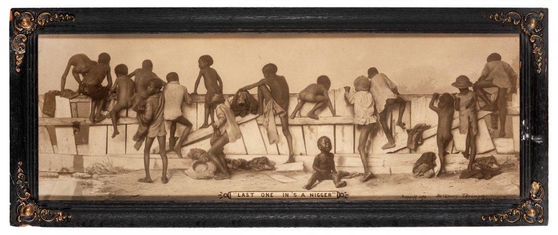 Early Black Americana Photograph Prints. 3 pcs.