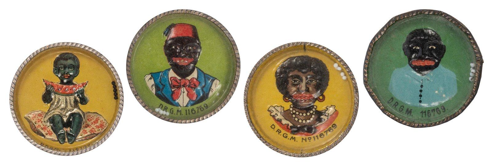 Black Americana Dexterity Puzzles. 4 pcs.