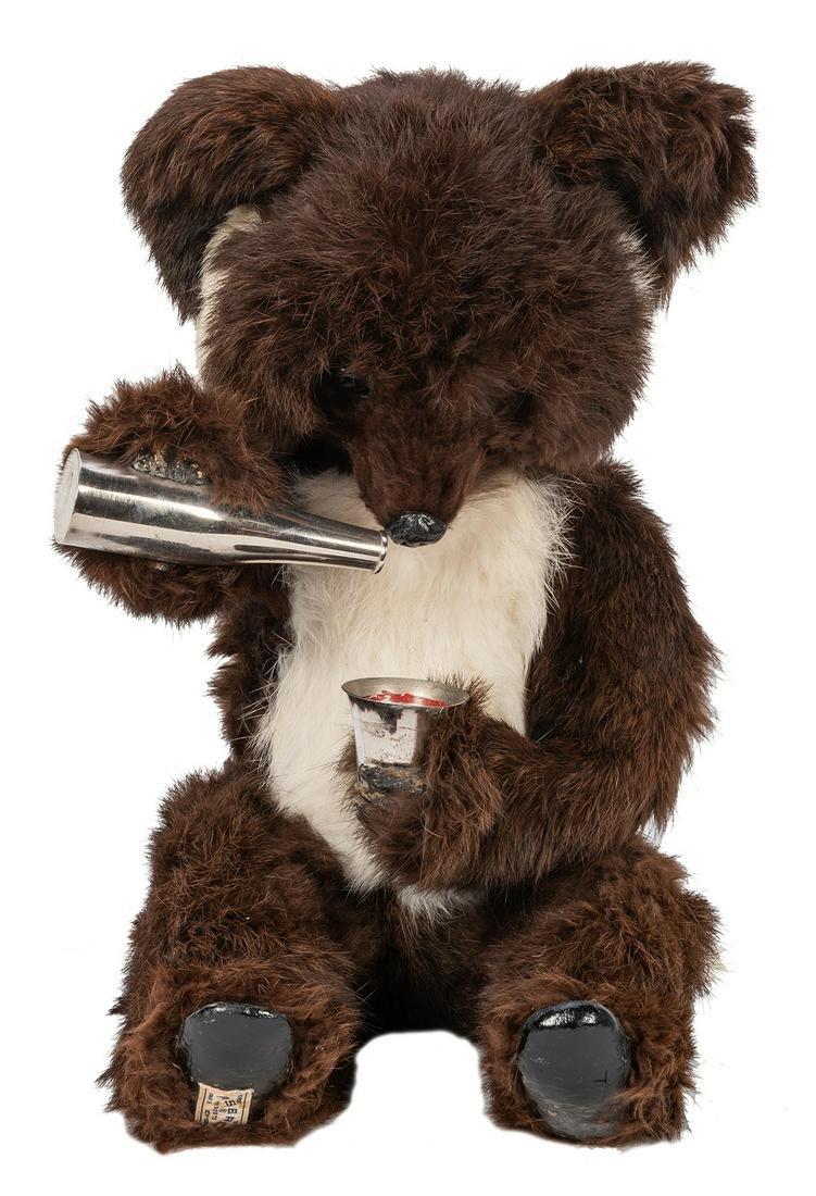 Electric Drinking Bear Automaton.