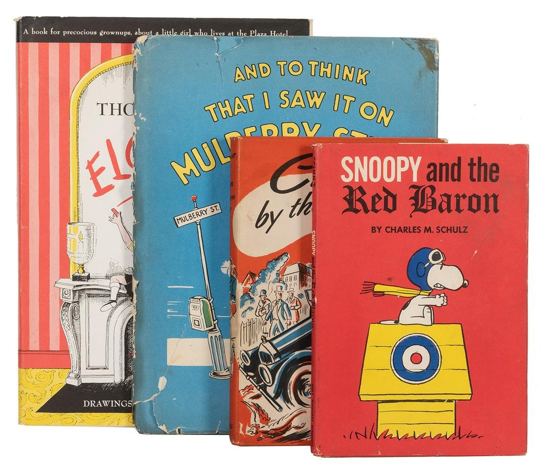 Group of Four Children's Books.