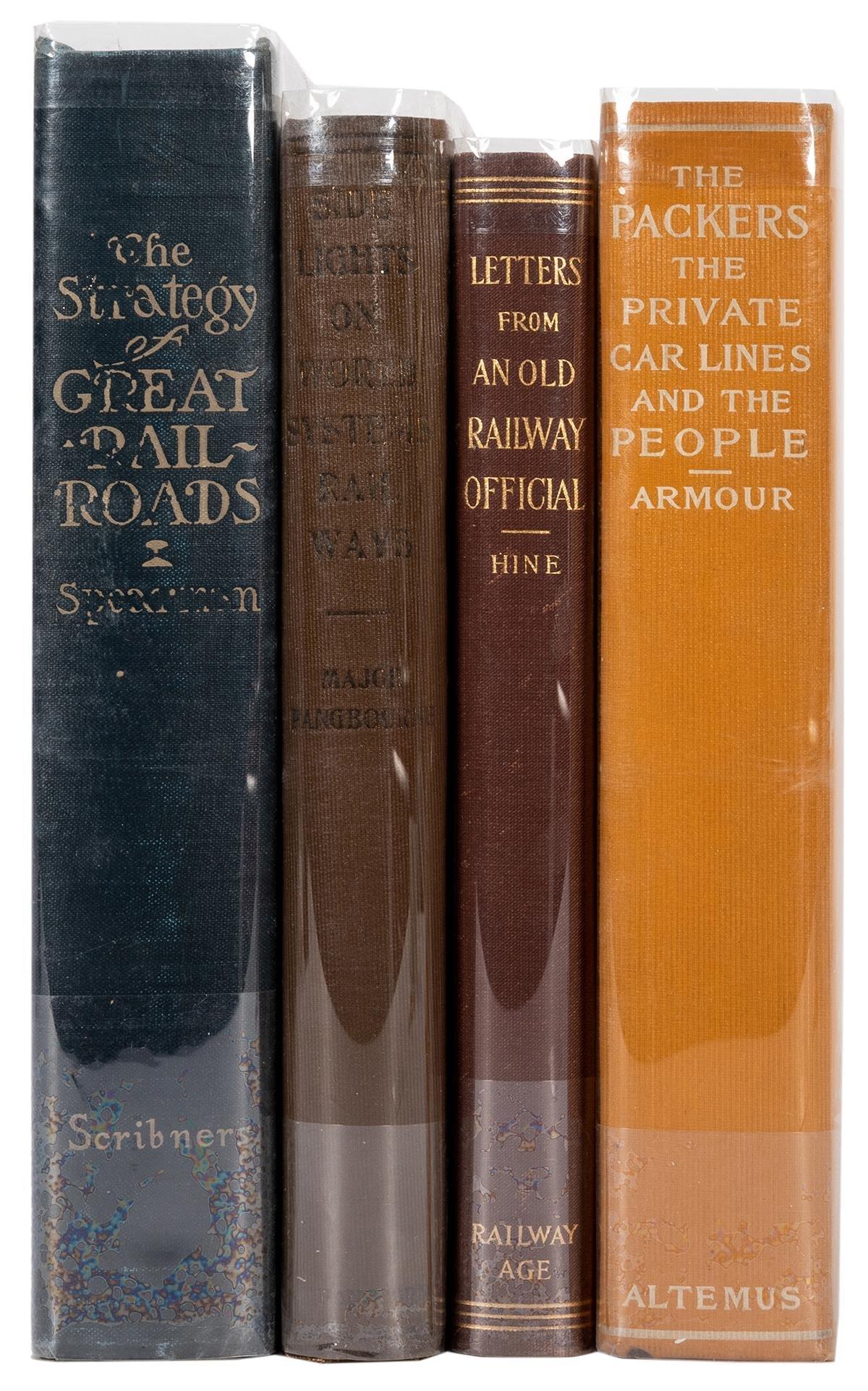 Group of Four Railway Books.