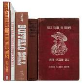 Group of Five Buffalo Bill Related Books.