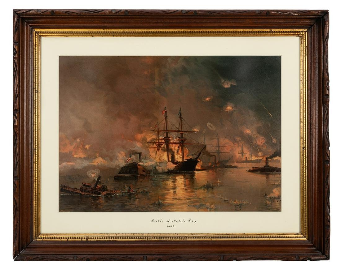 Battle of Mobile Bay, 1865.