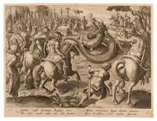 Attilius consul Romanus, Regulus, arcu, Afrum