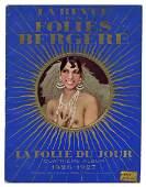 La Revue des Folies Bergere. 1926—27.