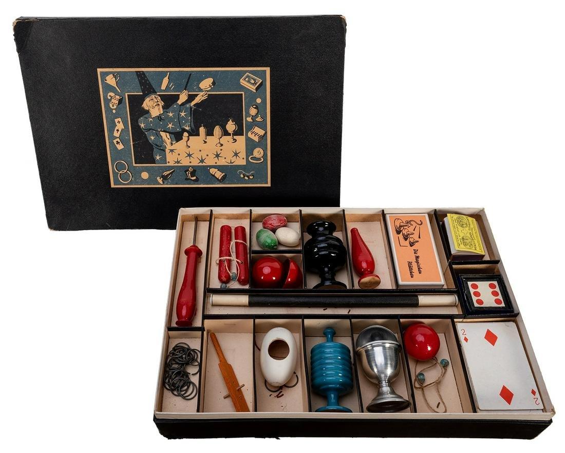 Vintage German Magic Set.