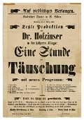 J.N. Hofzinser Conjuring Broadside
