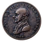 1821 Philadelphia Peale Museum Token