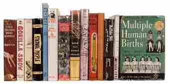 Collection of 14 Books Regarding Carnivals, Circus,