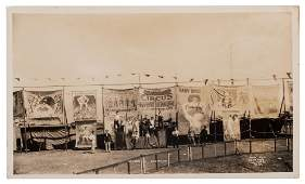 [The Singer's Circus Side Show]. Bay Shore, L.I. July