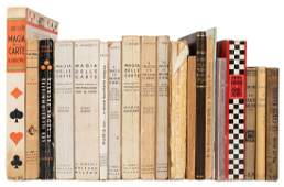 Group of Vintage Italian Books on Conjuring.