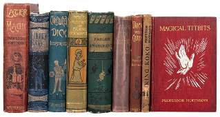 Nine Volumes by Professor Hoffmann
