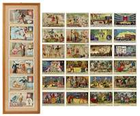 Group of Conjuring and Circus Chromolithograph Trade