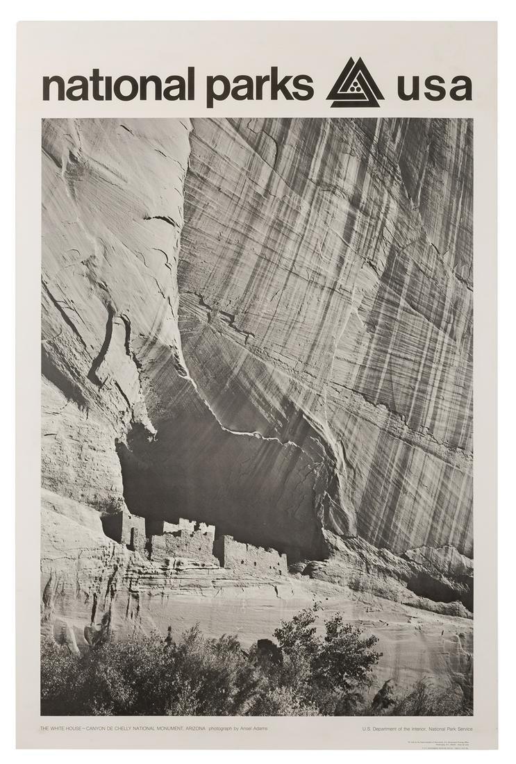 Adams, Ansel. The White House–Canyon de Chelly