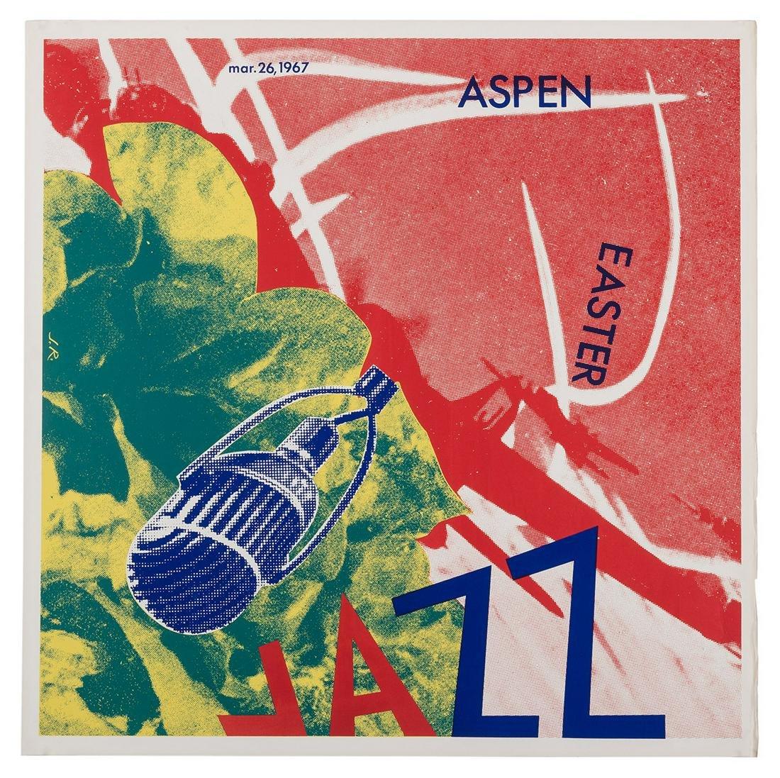 Rosenquist, James. Aspen Easter Jazz. March 26, 1967.