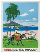 Treidler, Adolf (1886-1981). Furness. Cruises to the
