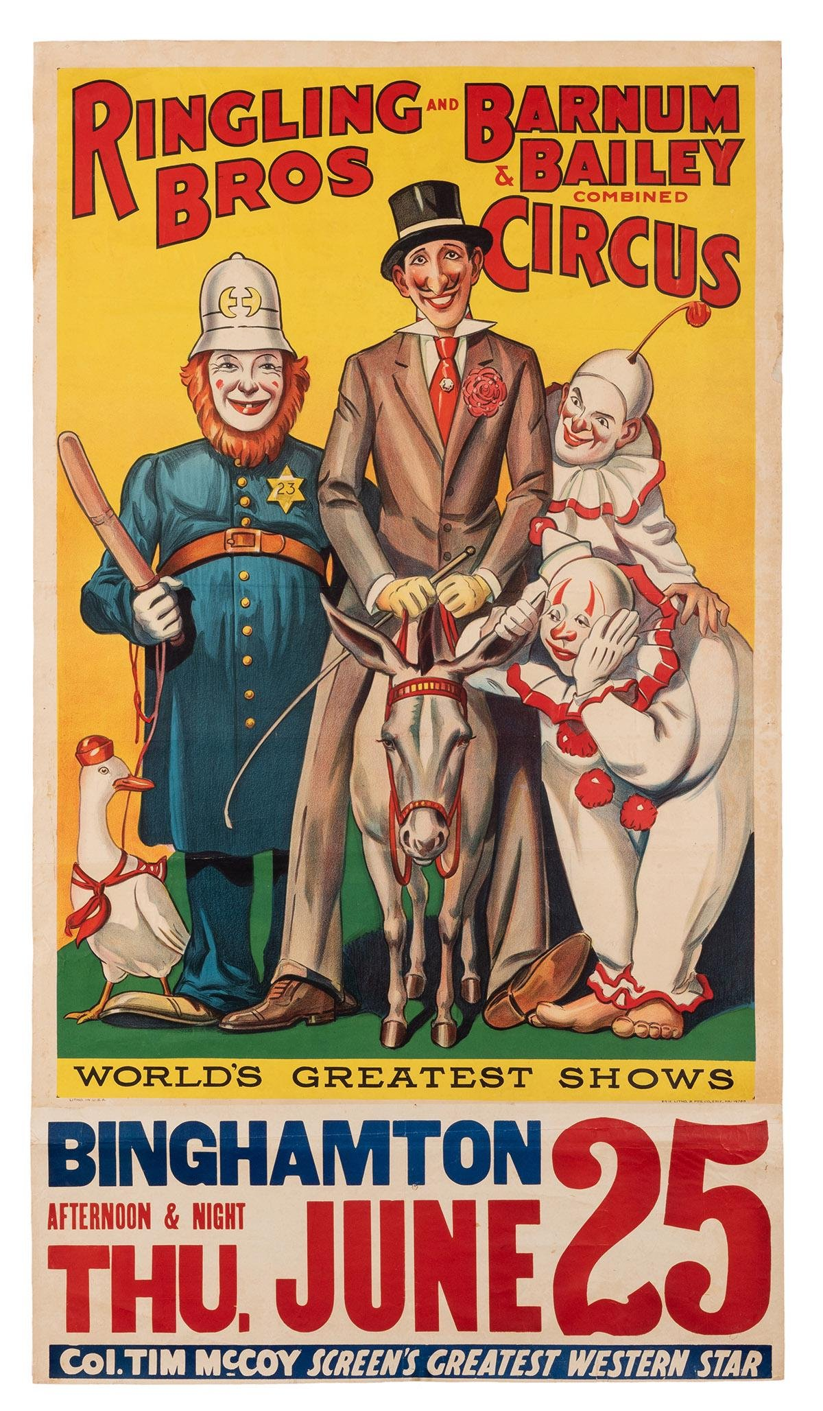 Ringling Brothers and Barnum & Bailey. [Clowns].