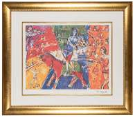 Chagall, Marc (after). Circus Horse and Rider.