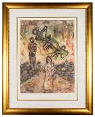 Chagall, Marc (after). Village Memories.