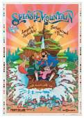 Splash Mountain silk-screened attraction poster.