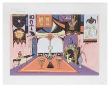 Rolly Crump Museum of The Weird Disney signed print on
