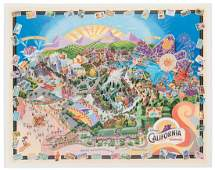 Disney's California Adventure signed opening day
