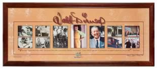 Walt Disney World castmember photo collage of Walt