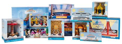 Enormous Lot of California Adventure Opening Day Toys.