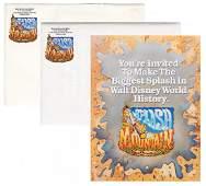 Splash Mountain at Walt Disney World Opening Media