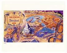 New Attractions of 1959 Lithograph by Herb Ryman