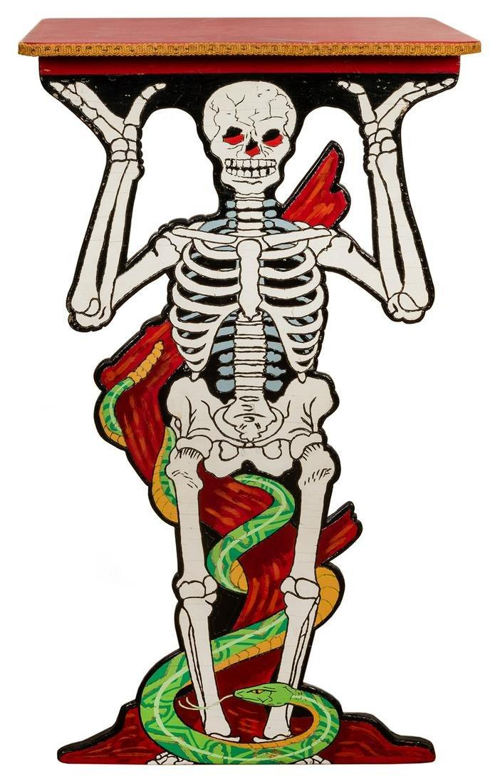McDonald Birch's Thayer Skeleton Side Table.