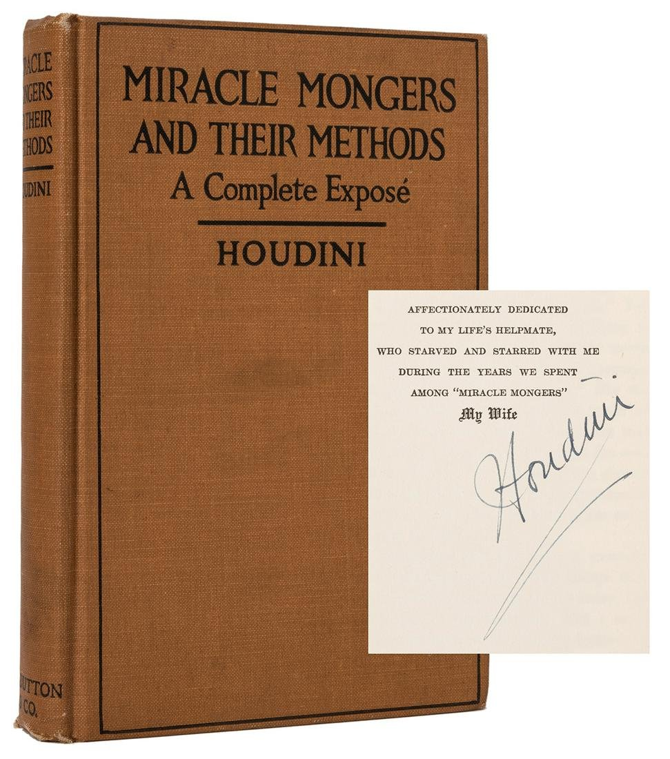 Miracle Mongers and Their Methods.