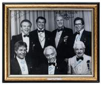 Signed Photograph of Johnny Thompson and Other