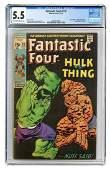 Fantastic Four #122. Marvel Comics, 1971. CGC 5.5