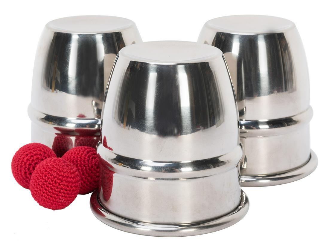 Monti Cups. Rings 'N Things, ca. 2000. Set of three