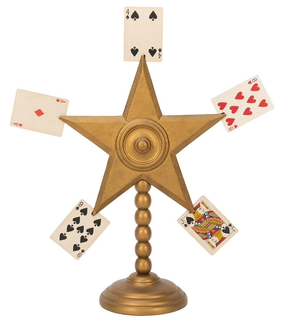 Card Star. Los Angeles: F.G. Thayer, ca. 1930. Five