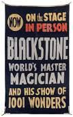 Blackstone, Harry. Harry Blackstone Sr. Advertising