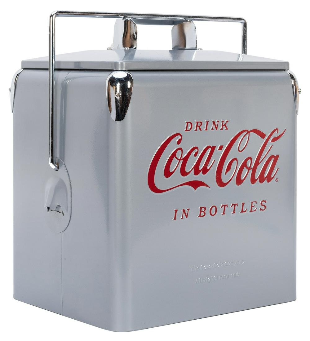 Coca-Cola American Retro Bottle Cooler. 2003. Model No.