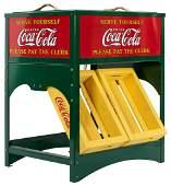 Coca-Cola Glascock Salesman Sample Cooler Repro.