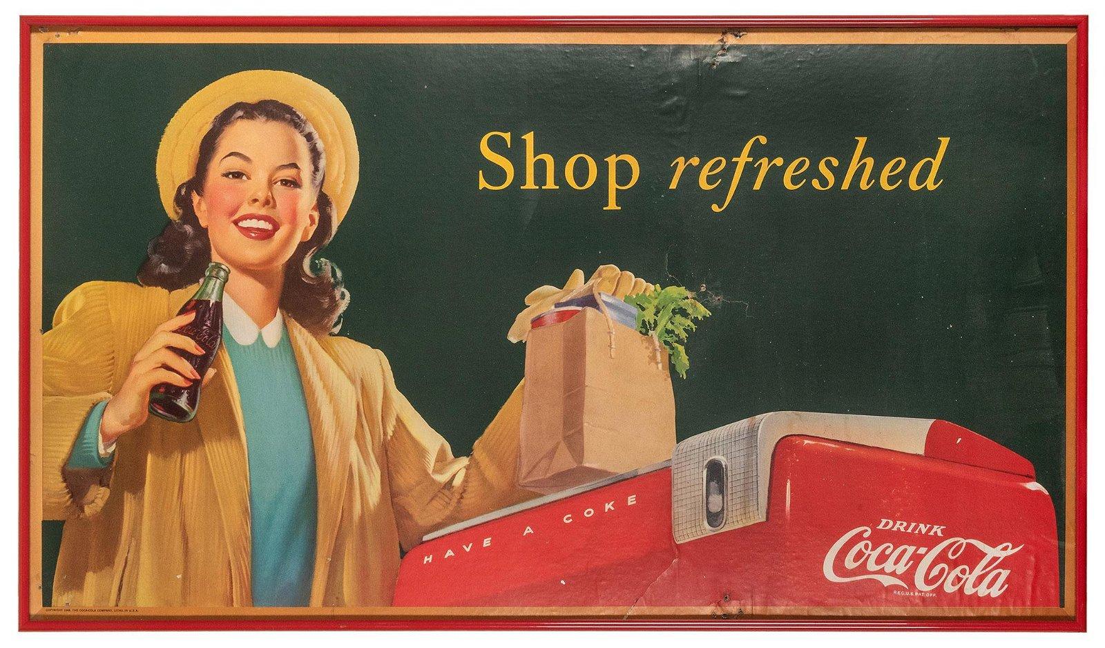 "Coca-Cola ""Shop Refreshed"" Advertising"