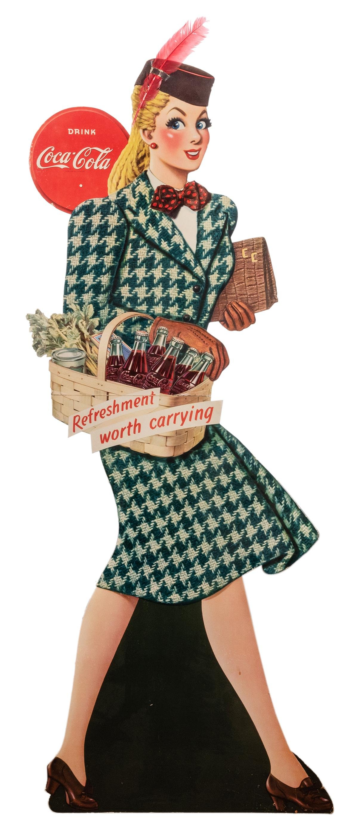 """Coca-Cola """"Refreshment Worth Carrying"""" Die"""
