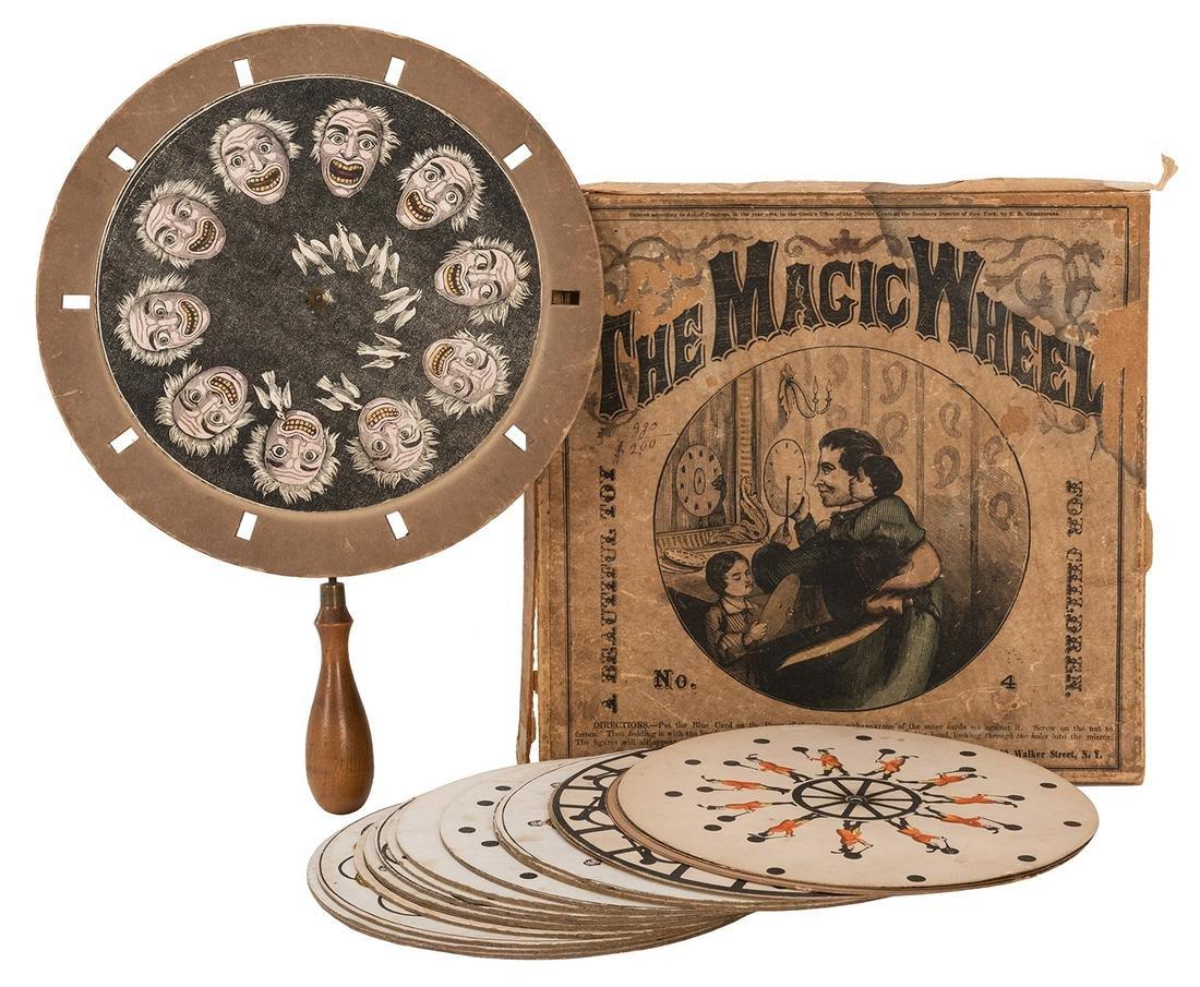 """[Viewer] 19th Century Phenakistoscope """"The Magic"""