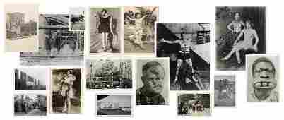 Archive of Over 250 Circus and Sideshow Photos.