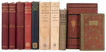 Ten Volumes on Early American Histories Biographies
