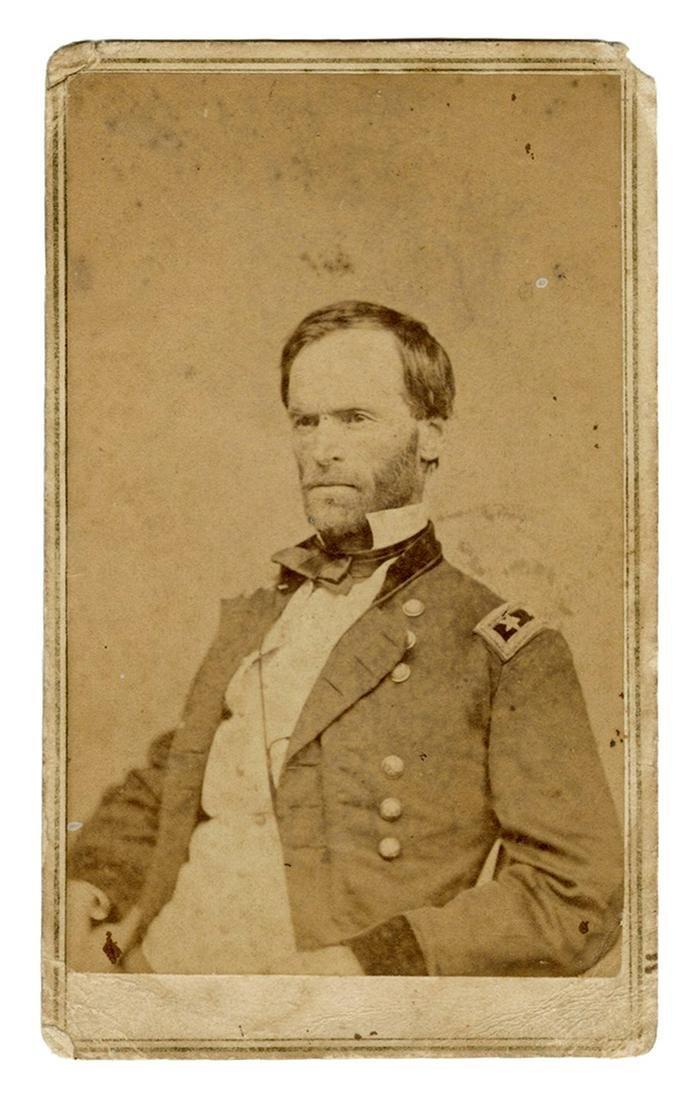 [CIVIL WAR] Sherman, William Tecumseh. Major General